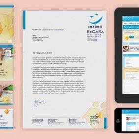 RECARA Geschäftsausstattung Corporate Branding