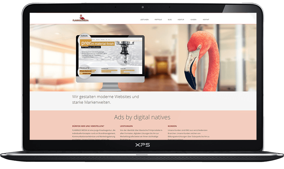 Flamingo Media - Neue Website 2014